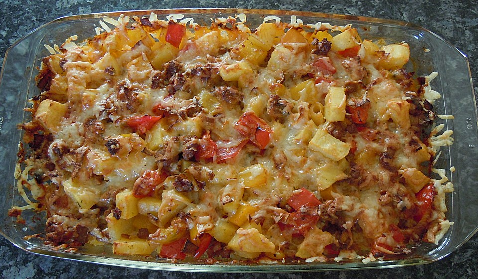Rezepte hackfleisch in paprika