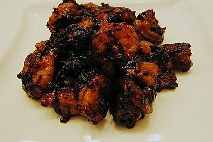 BBQ Garnelen in Honig - Senf - Sauce 9