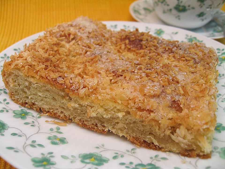 kokos butterkuchen rezept mit bild von heddu. Black Bedroom Furniture Sets. Home Design Ideas