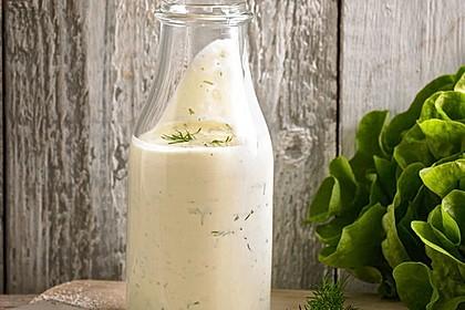 Salatdressing Sylter Art
