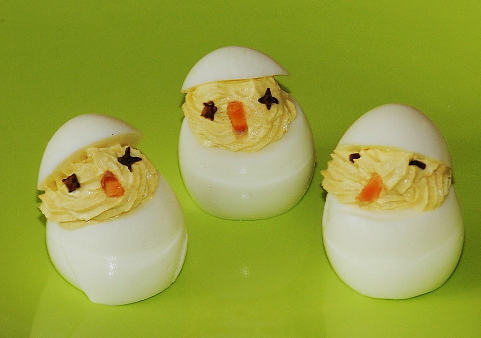 gef llte eier senf frischk se rezepte. Black Bedroom Furniture Sets. Home Design Ideas