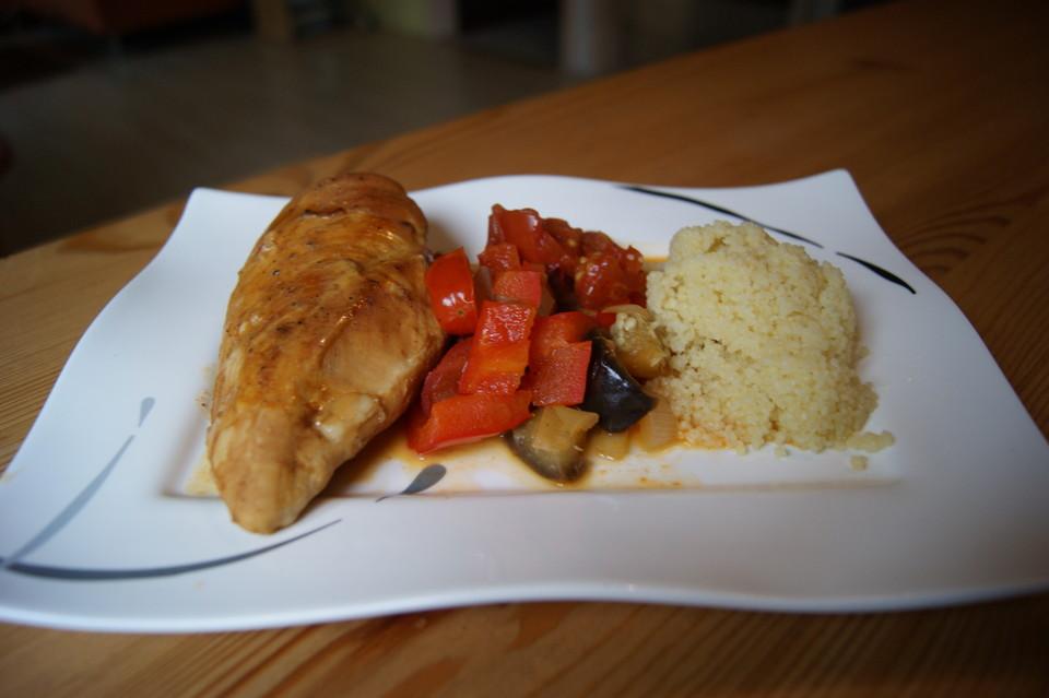 Couscous mit Hähnchen in mediterraner Sauce von Köchin_Lloret ...