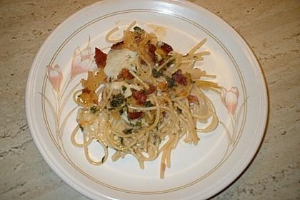 Sayas leichte Spaghetti Carbonara 23