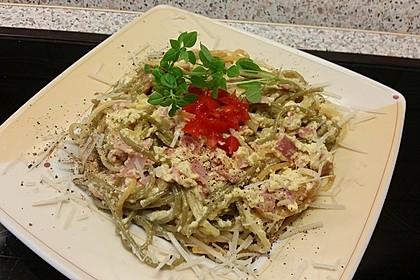 Sayas leichte Spaghetti Carbonara 22