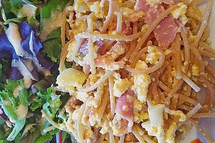 Sayas leichte Spaghetti Carbonara 52