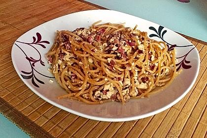 Sayas leichte Spaghetti Carbonara 41