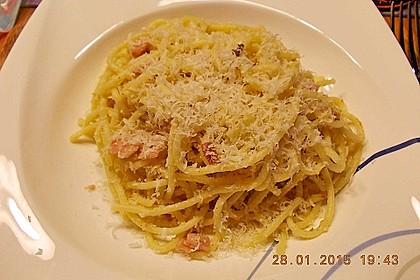 Sayas leichte Spaghetti Carbonara 16