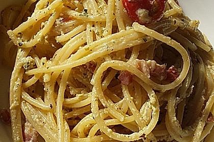 Sayas leichte Spaghetti Carbonara 29