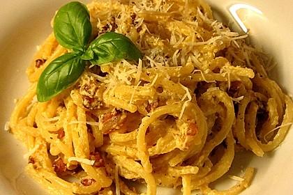 Sayas leichte Spaghetti Carbonara 9