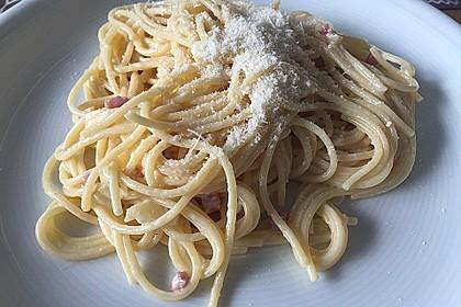 Sayas leichte Spaghetti Carbonara 31