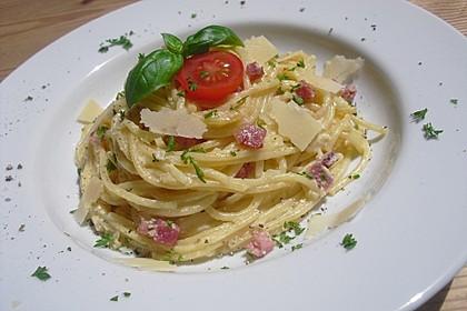 Sayas leichte Spaghetti Carbonara 2