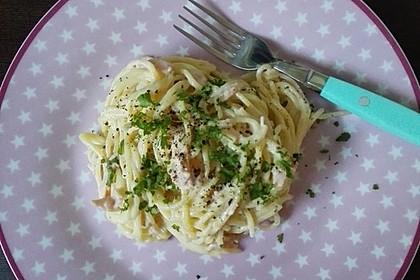 Sayas leichte Spaghetti Carbonara 19