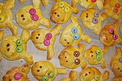 Glücksschweinchen aus Quark - Öl - Teig 17