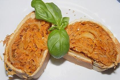 Eichkatzerls Sauerkrautstrudel