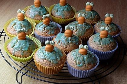 Möhren - Muffins 2
