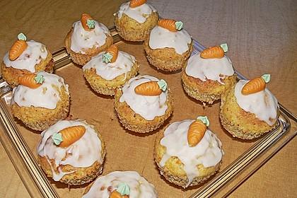 Möhren - Muffins 1