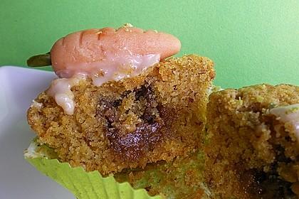 Möhren - Muffins 3