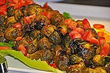 Rosenkohl - Tomaten - Salat