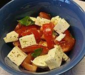 Mozzarella - Tomaten - Salat