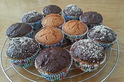 Gefüllte Karamell - Muffins