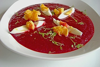 Rote Bete - Suppe 3