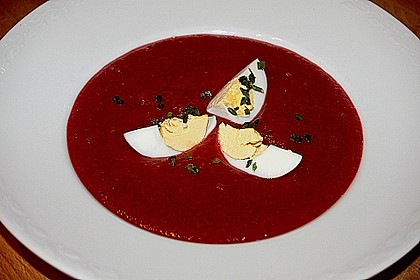Rote Bete - Suppe 1