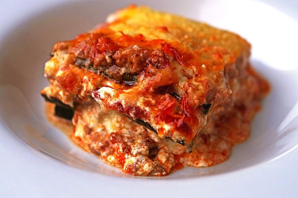 zucchini lasagne rezept mit bild von bluejay. Black Bedroom Furniture Sets. Home Design Ideas