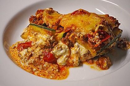 Zucchini - Lasagne 1