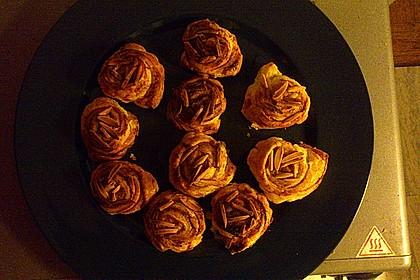 Zimtschnecken aus Blätterteig 24