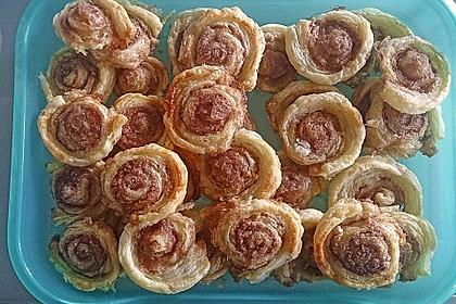 Zimtschnecken aus Blätterteig 44