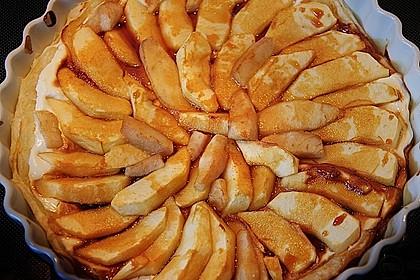 Birnen - Apfel - Tarte