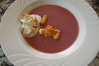 Blaukraut - Cremesuppe 3