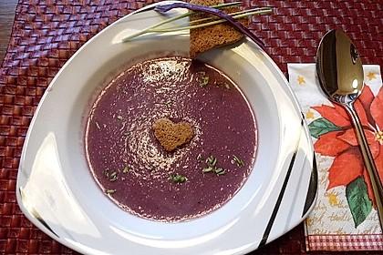 Blaukraut - Cremesuppe 10