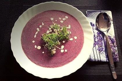 Blaukraut - Cremesuppe