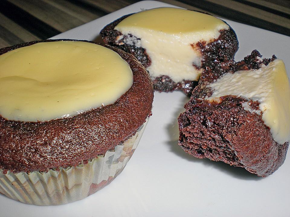 Double Chocolate Cheesecake Muffins (Rezept mit Bild) | Chefkoch.de