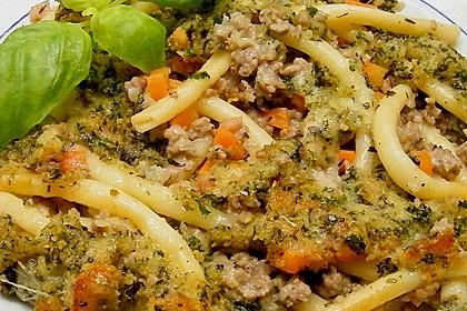 Makkaroni mit Kräuterkruste 2