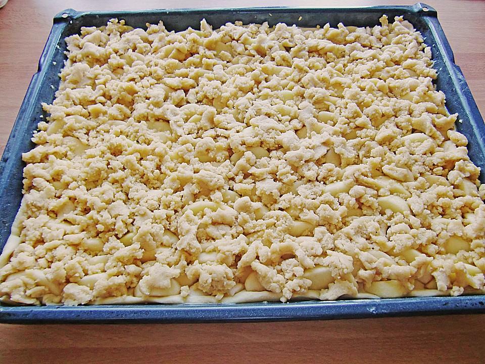 Rezept apfel blechkuchen