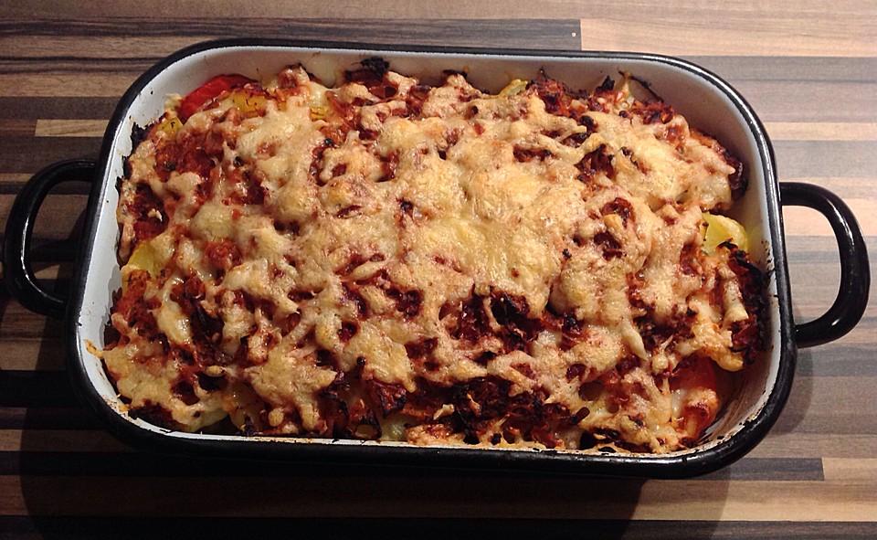 Rezept kartoffel sauerkraut gratin
