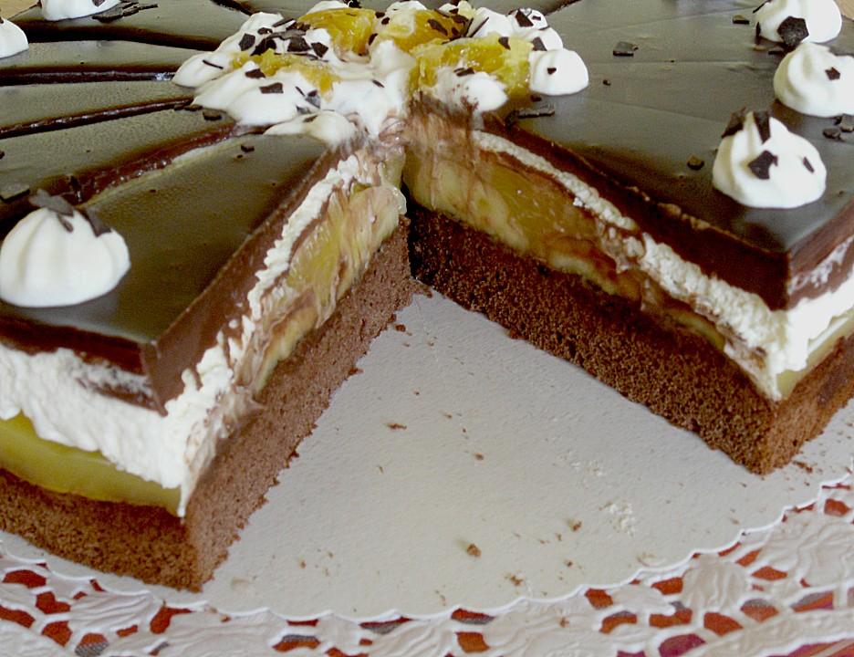 Schoko torte gelatine