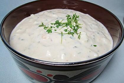 Eier - Knoblauch - Sauce 4