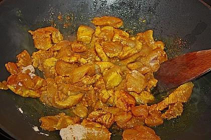 Huhn nach Kap Malayischer Art 6