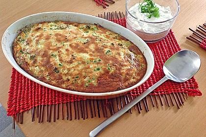 Gemüse - Soufflé 1