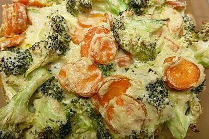 Gemüse - Soufflé 5