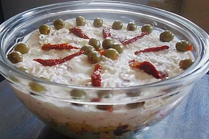 Daphnes schlanker Gyros - Schichtsalat 14