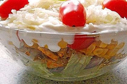 Daphnes schlanker Gyros - Schichtsalat 12