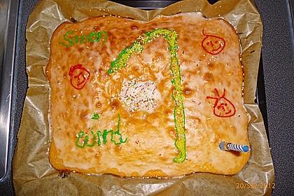 Blechkuchen zum Kindergeburtstag 0