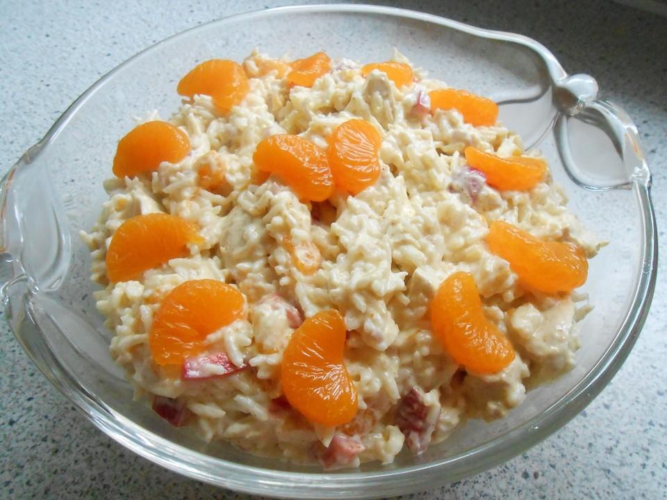 Reissalat geflugel rezept
