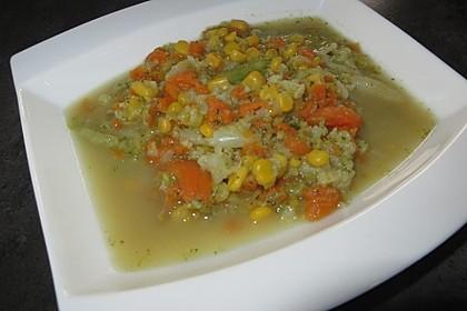 Gemüsesuppe Ruck Zuck