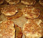 Frikadellen aus dem Backofen mit Joghurt