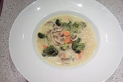 Currysuppe mit Glasnudeln 1